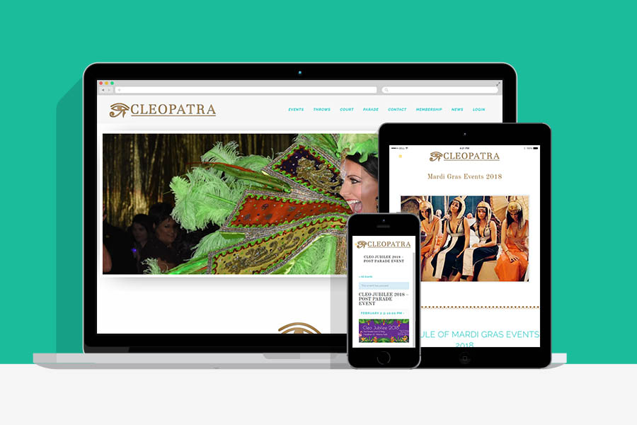 Krewe of Cleopatra Custom Ecommerce and Membership Solution-7