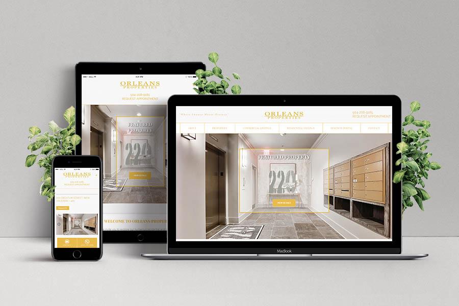 Orleans Properties Real Estate Website 3
