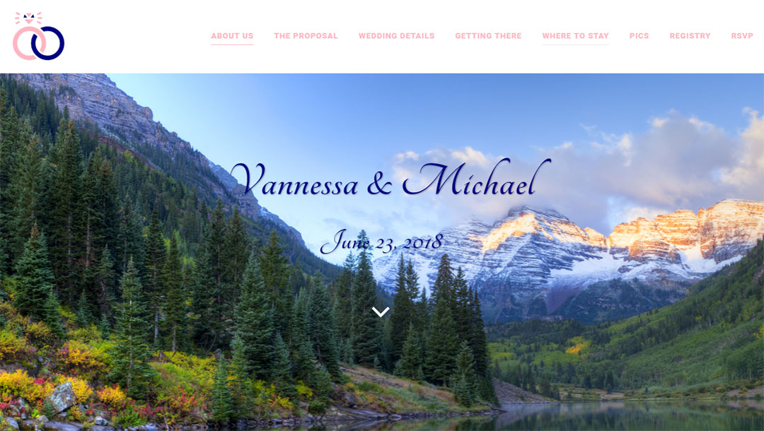 Wedding Website Design - Close the Loop Group
