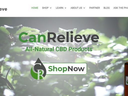CanRelieve All-Natural CBD Products